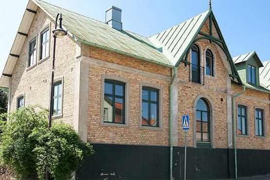 Renovering av fastighet i Båstad